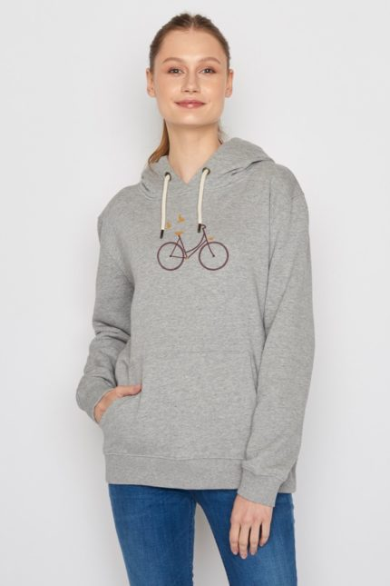Greenbomb Sweatshirt mit Kapuze Bike Birds