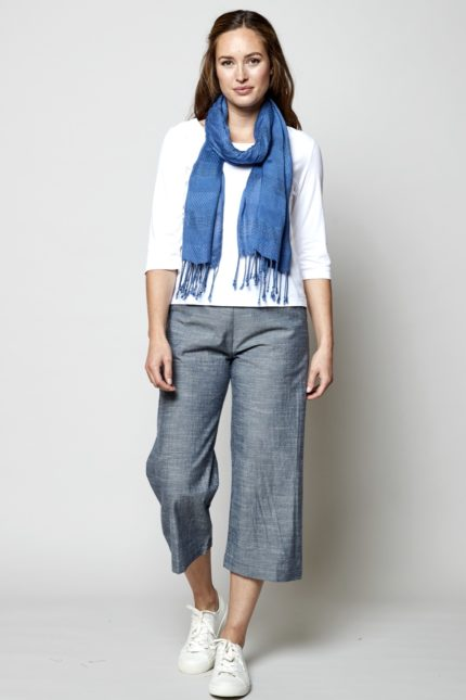 Nomads Crop Weite Hose Chambray