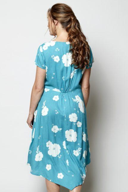 Nomads Kleid Hibiscus Blau