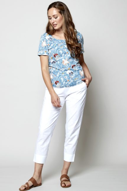 Nomads T-Shirt Hepworth Blau