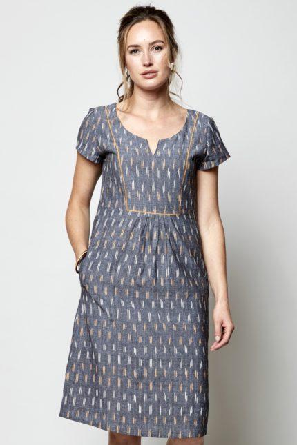 Nomads Kleid Ikat
