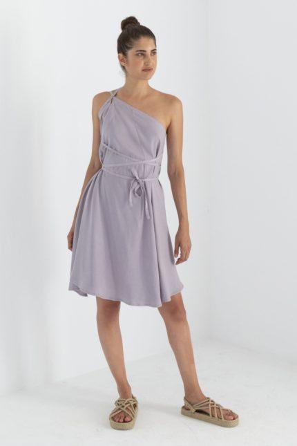 Suite13 Tencel Kleid Daphne Lavanda kurz