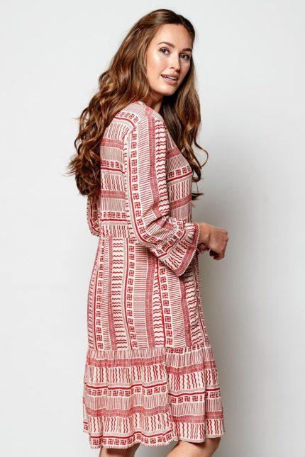 Nomads Kleid Boho Zen Pomegranate
