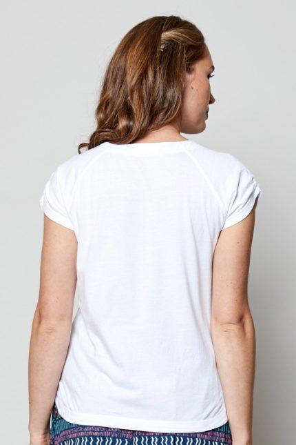 Nomads Top Weiß aus Bio-Baumwolle