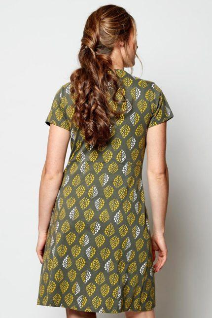 Nomads Tunika Kleid Solitaire Grün aus Bio-Baumwolle