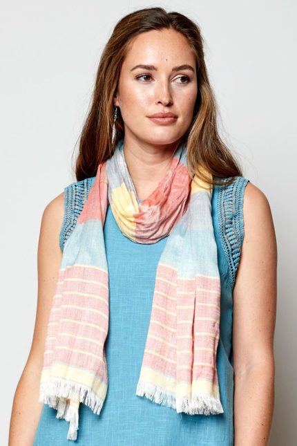 Nomads Tuch Striped Sunset