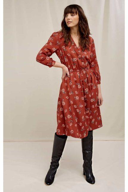 People Tree Tencel Kleid Becky Floral