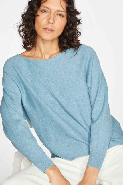 Thought Pulli Polly Dolman Blau