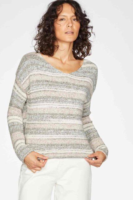Thought Pullover Lena aus Bio-Baumwolle