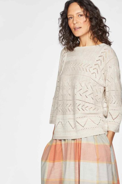 Thought Pullover Bea mit Wolle