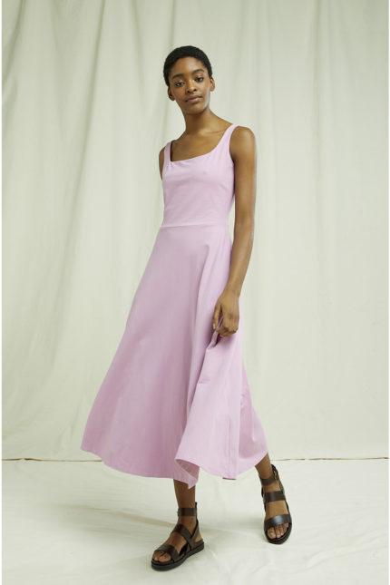 People Tree Kleid Tyra Mauve aus Bio-Baumwolle