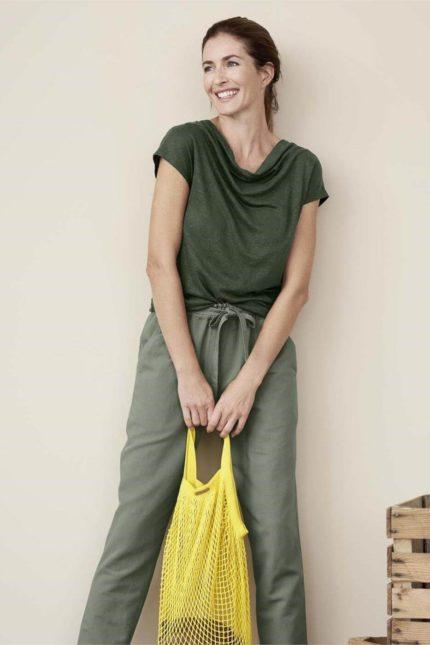 Living Crafts Netztasche Grenoble gelb aus Bio-Baumwolle