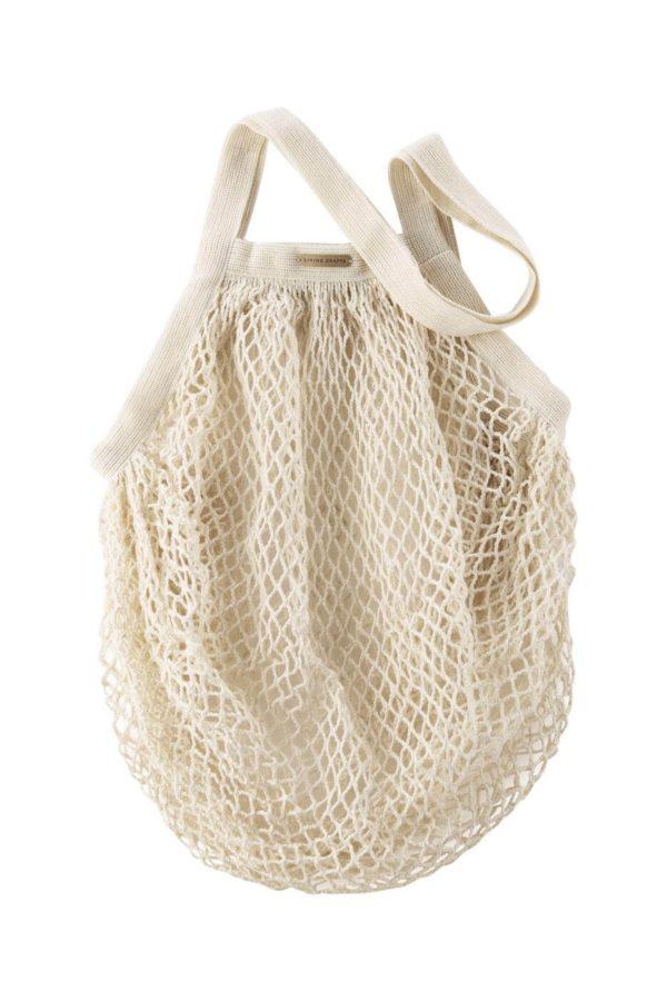 Living Crafts Netztasche Grenoble natürliche Farbe aus Bio-Baumwolle