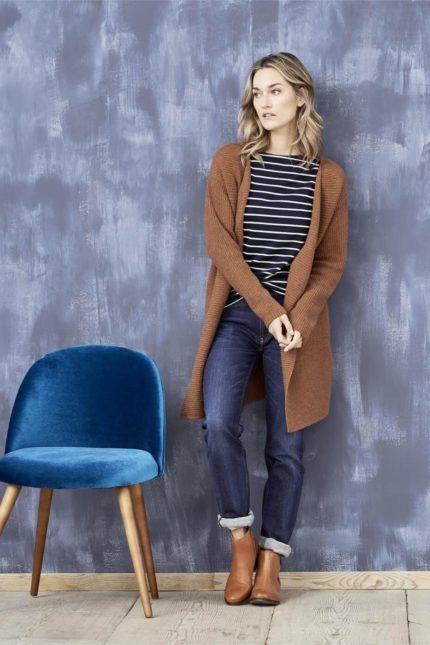 Living Crafts Jeans Donna Dark Blue aus Bio-Baumwolle