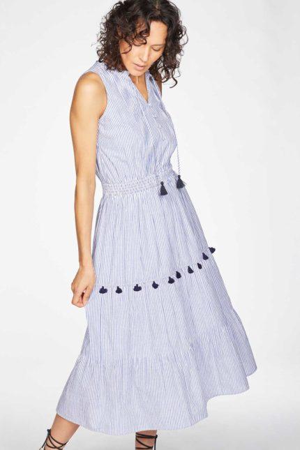 Thought Kleid Leonora aus Bio-Baumwolle
