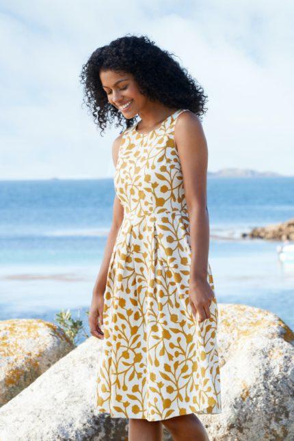 Seasalt Cornwall Kleid Merthen Sandstone