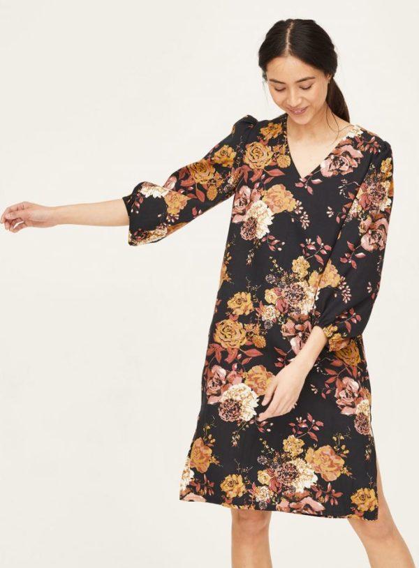 WWD6082-BLACK-Rosetti-Organic-Cotton-Bell-Sleeve-Dress-in-Black-1